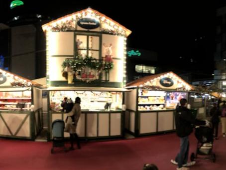 Mercado Navideño alegre