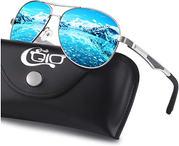 Pilot gafas de sol polarizadas UV400, bisagras de resorte duplicadas