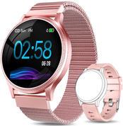 Smartwatch Mujer, Reloj Inteligente Mujer con Pulsómetro