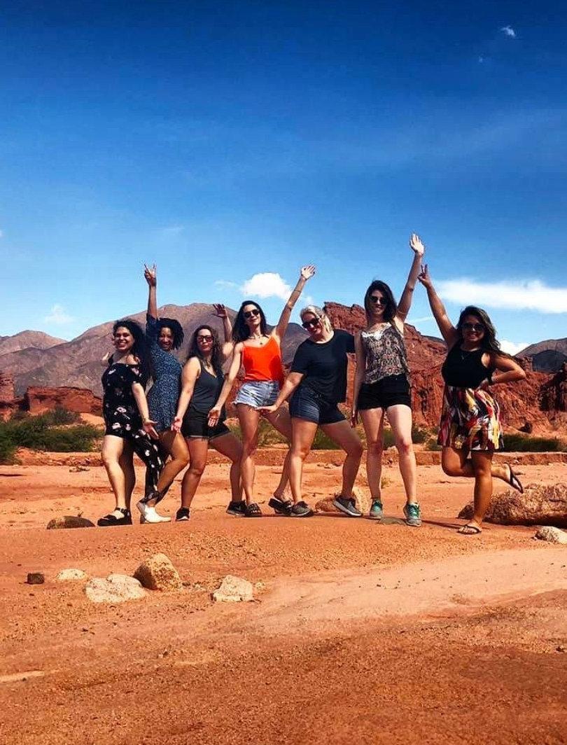 Viajes grupales de mujeres Salta