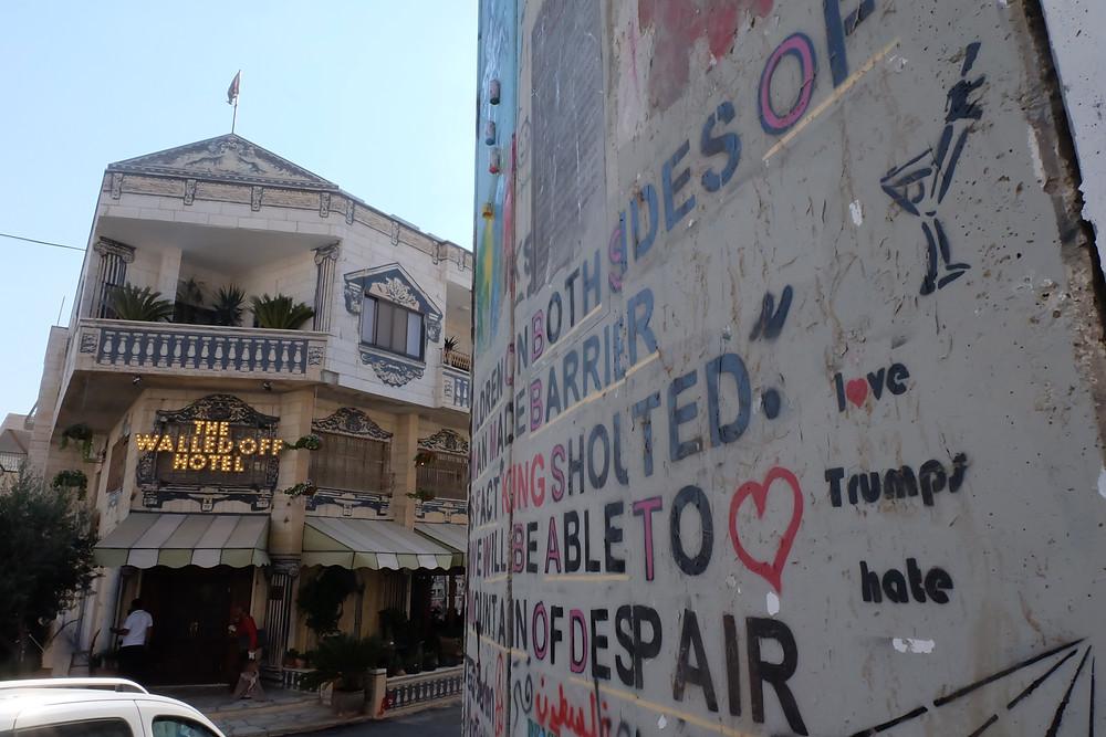 The Walled Hotel, Betlehem, West Bank
