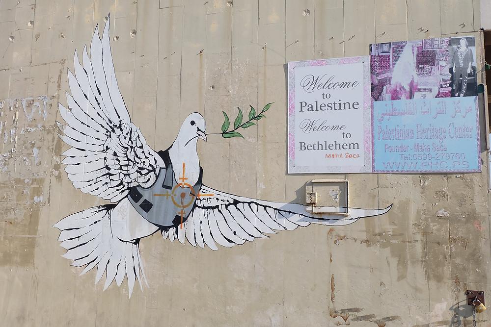 Banksy, Betlehem, West Bank