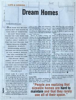 Dream hones