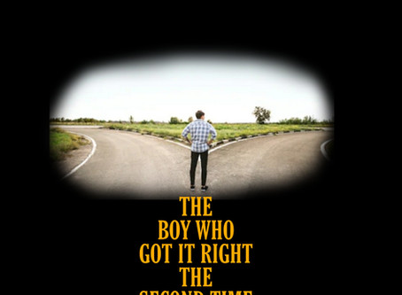 The boy who got it right the second time--aided by latency