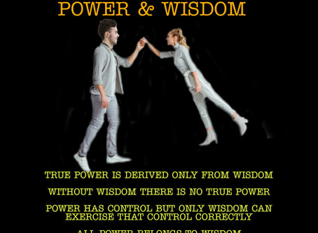 The beautiful relationship between wisdom and power