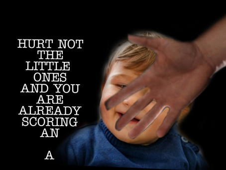 Harm not the little ones