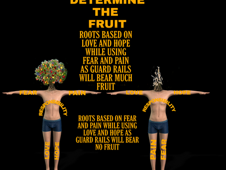 The roots determine the fruit