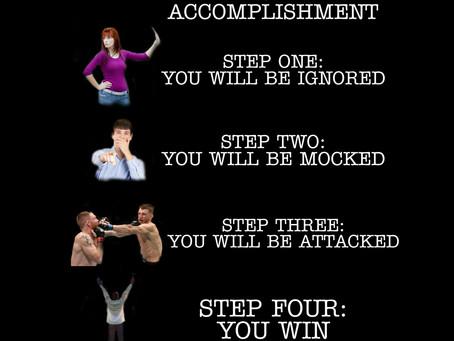 The 2x2 steps to accomplishment