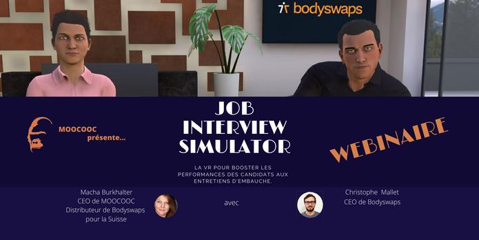 WEBINAIRE JOB INTERVIEW SIMULATOR