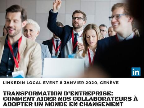 Conférence LinkedIn Genève 8.01.2020