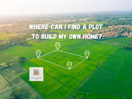Where Can I Find a Plot To Build My Own Home?