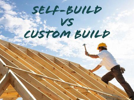 Self-Build vs Custom Build Homes