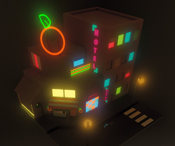 First project in blender