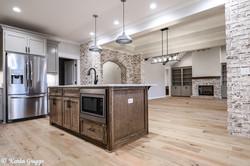 Custom modern kitchen