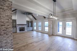 Stunning hardwood floors