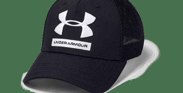 כובע אנדר ארמור קלאסי שחור לבן Classic black Under Armor hat