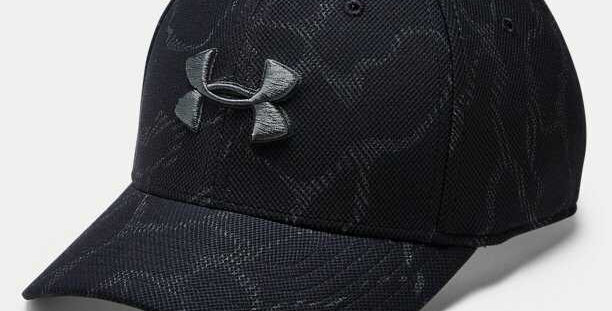 כובע אנדר ארמור שחור מנומר Black Under Armor hat