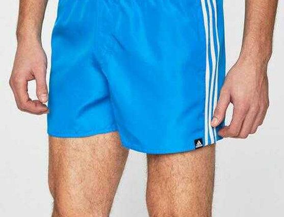 שורט אדידס תכלת לגבר Classic Adidas shorts