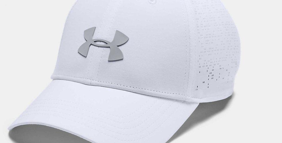 כובע אנדר ארמור לבן Under Armour Elevated Golf Cap