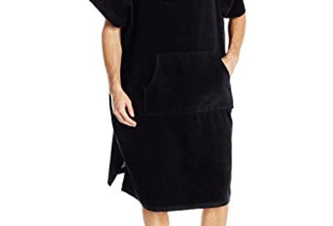 מגבת חוף חלוק עם כובע קוויקסילבר 100% כותנה Quiksilver