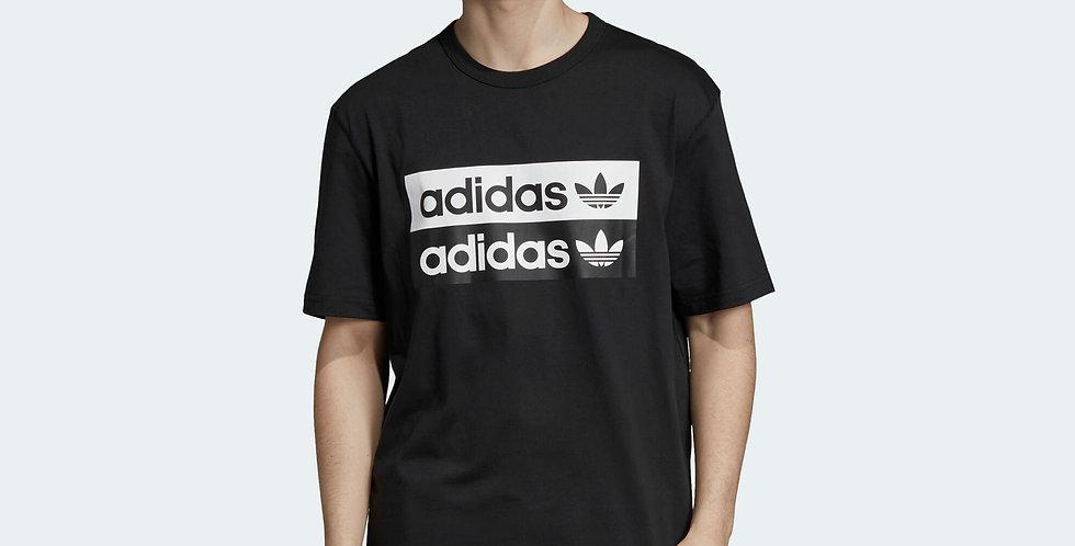 ADIDAS ORIGINAL BLACK SHIRT חולצת אדידס אוריג'ינלס שחור לגבר
