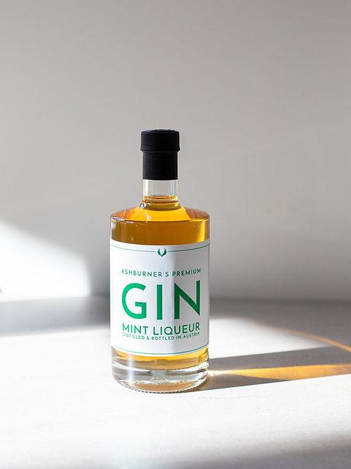 Ashburner's Premium Gin Mint Likör