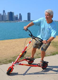 29 - Cruising along the shores of Chicag