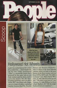 36 - Hollywood Stars n Trikke