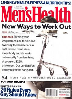 39 - Mens Health Mag Cover
