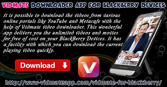Vidmate Downloader App For BlackBerry Devices   Vidmate Music Downloader