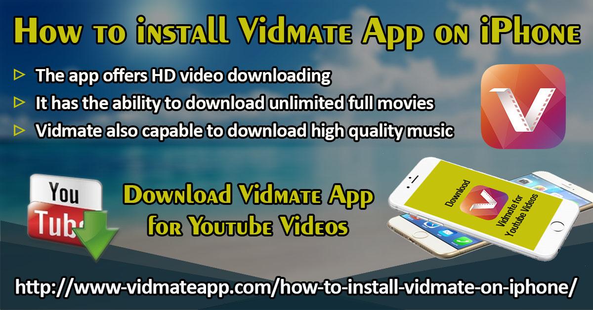 How To Install Vidmate App on iPhone? | Vidmate Music Downloader