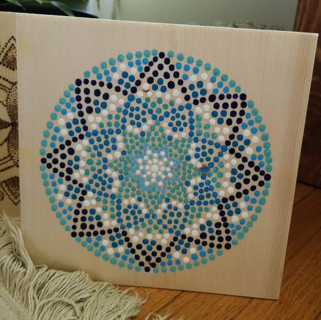 Dot art Mandala
