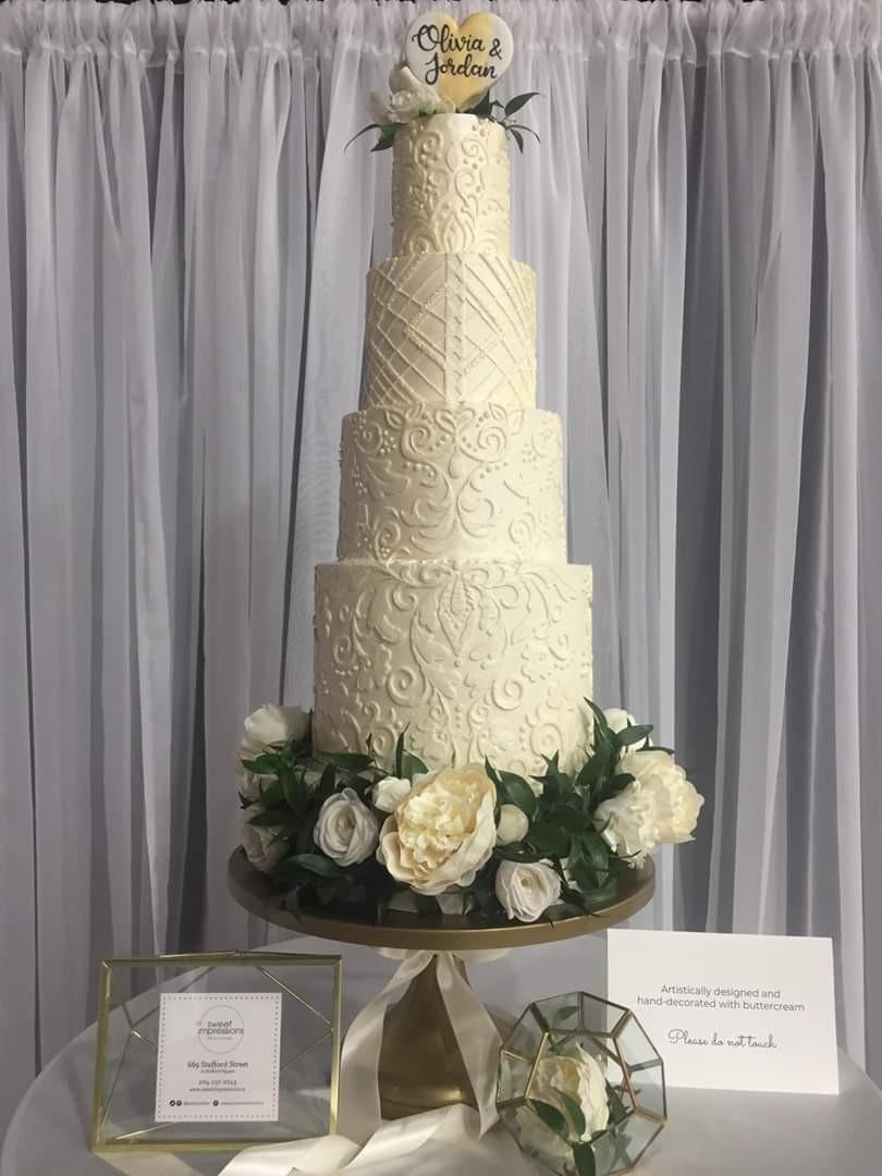 Wonderful Wedding Show Cake