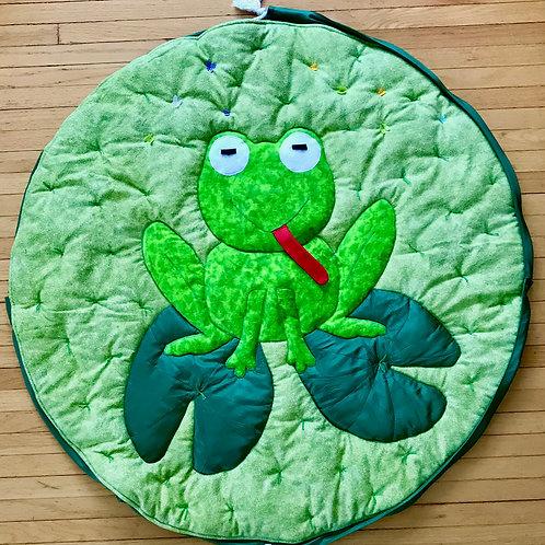 Padded Play mat - frog