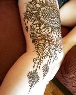 Henna Thigh tattoo