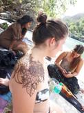 Floral shoulder Tattoos