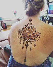 Lotus Back piece