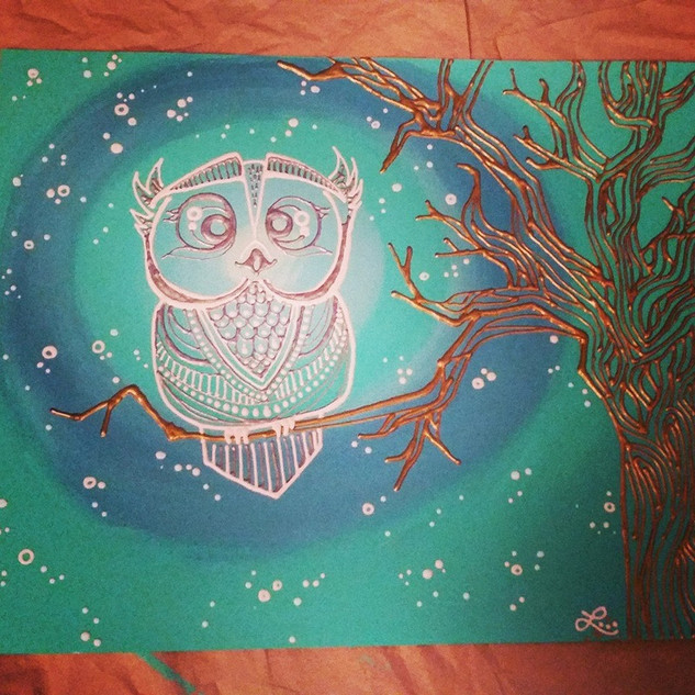 Glow in the dark Owl