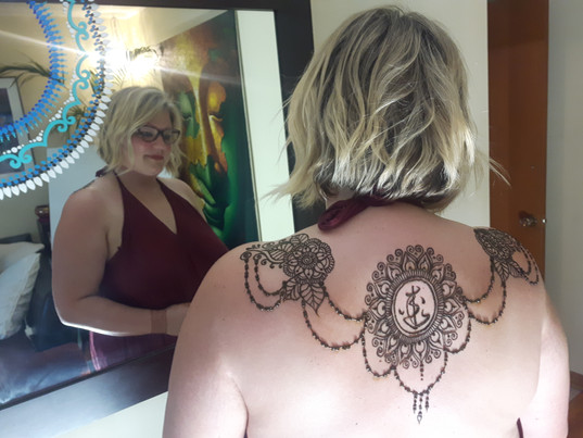 Jewel Drapped mandala