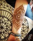 inner arm Henna