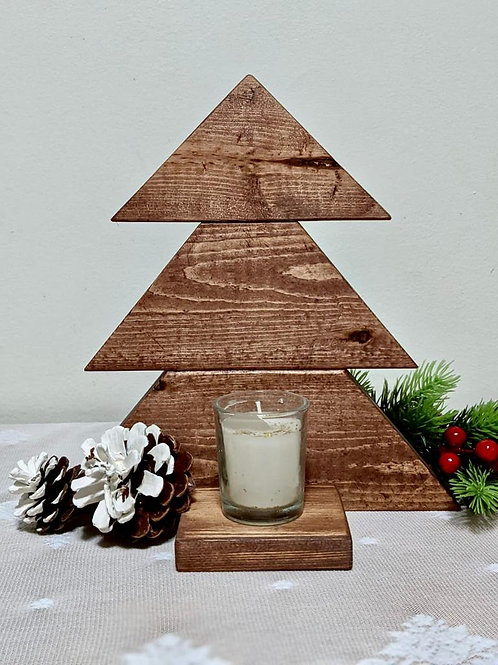 Christmas Tree Stand with Candle