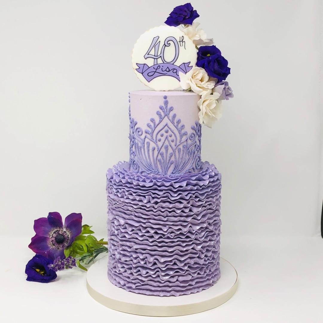 Luxe Cake Lavender Lotus