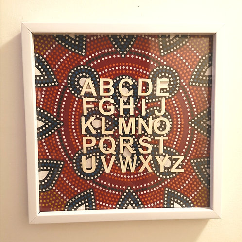 """Picture Frame """"ABC"""""""