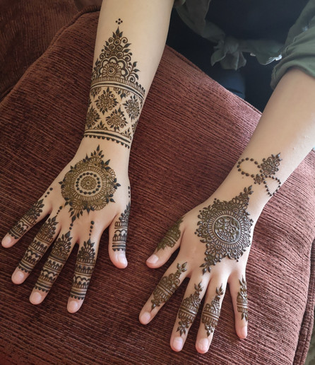 Henna Wedding Style