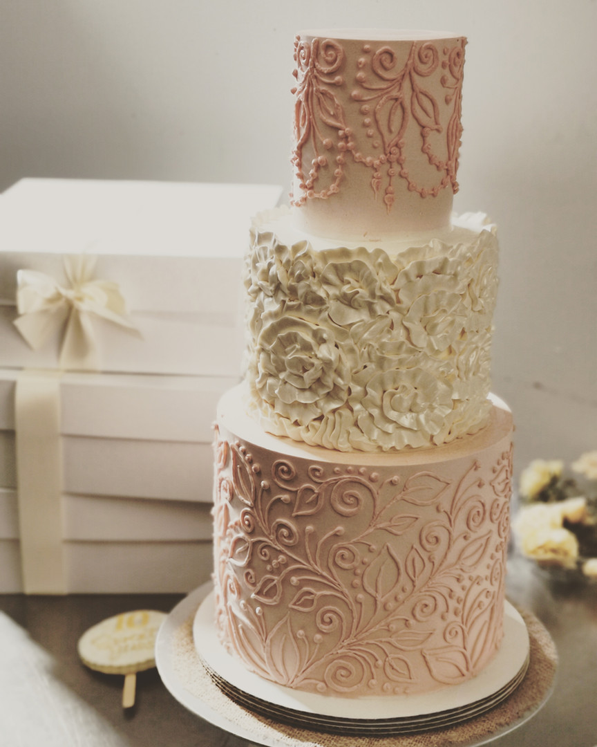 Floral Lace Cake