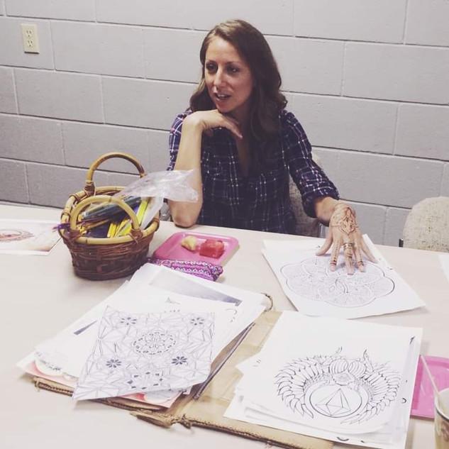 Teaching a Drawing Class