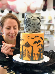 Halloween Custom Cake