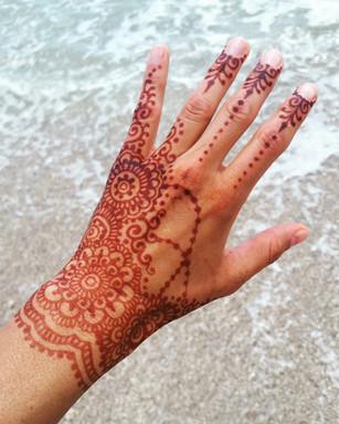 Mandala Hand glove