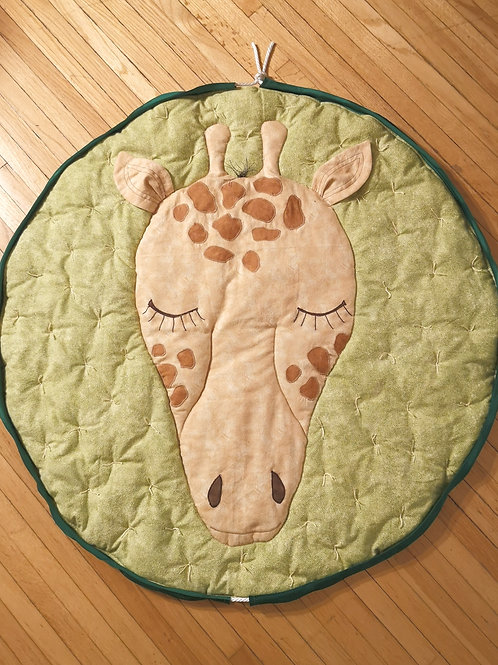 Padded Play Mat - Giraffe