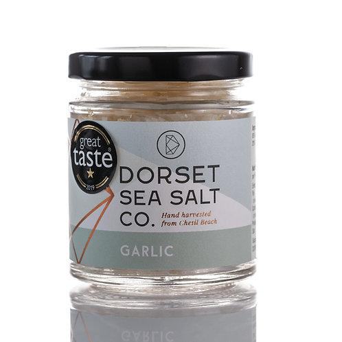Garlic Infused Dorset Sea Salt 125g